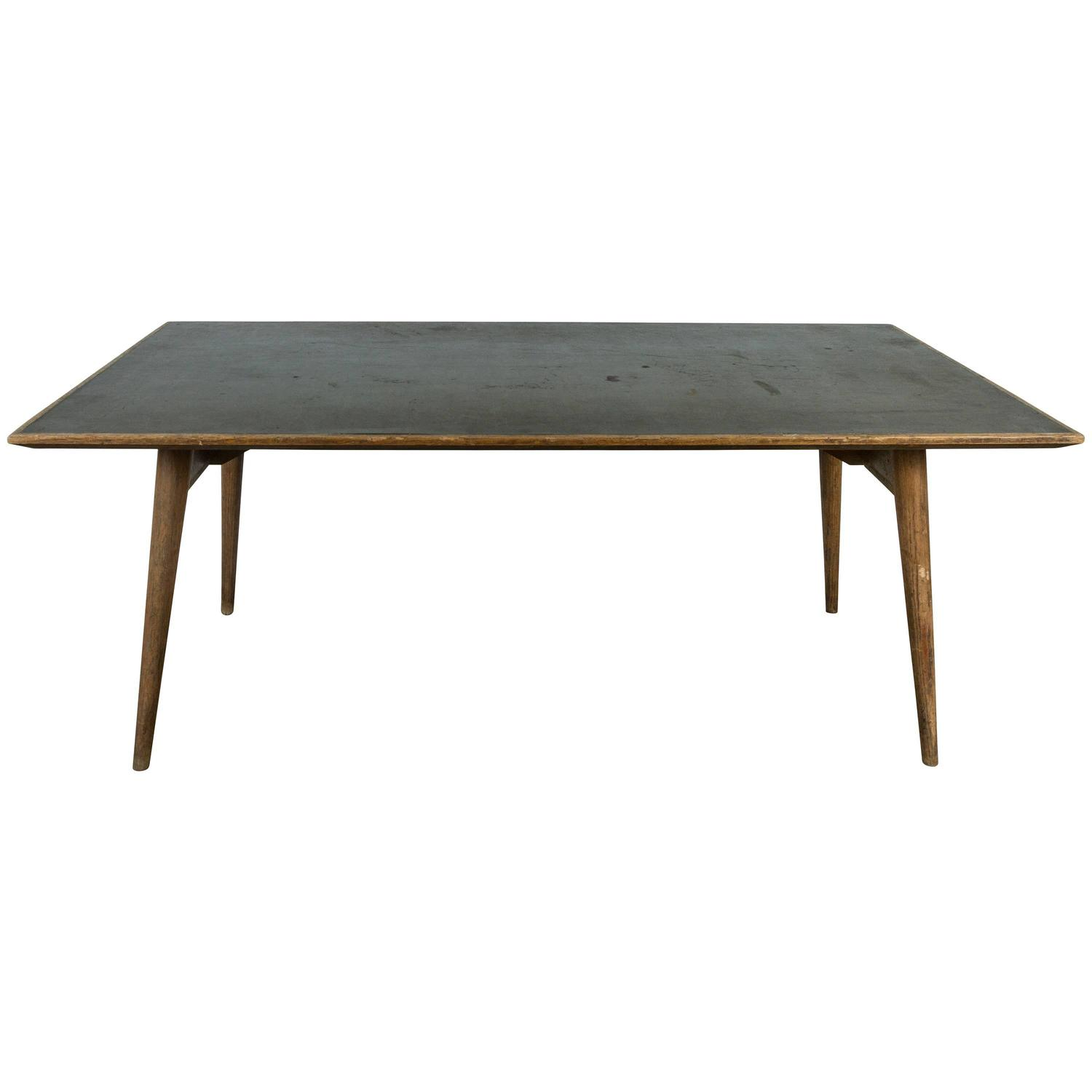 Laminate Dining Tables Modernist Wood And Laminate Dining Table For Sale At 1stdibs Eames