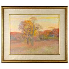 Henry Hensche Fall Landscape