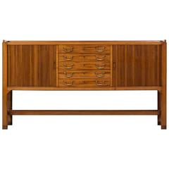 David Rosén Sideboard or Cabinet by Nordiska Kompaniet in Sweden