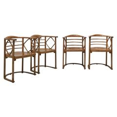 Fantastic Original Chairs by Josef Hoffmann