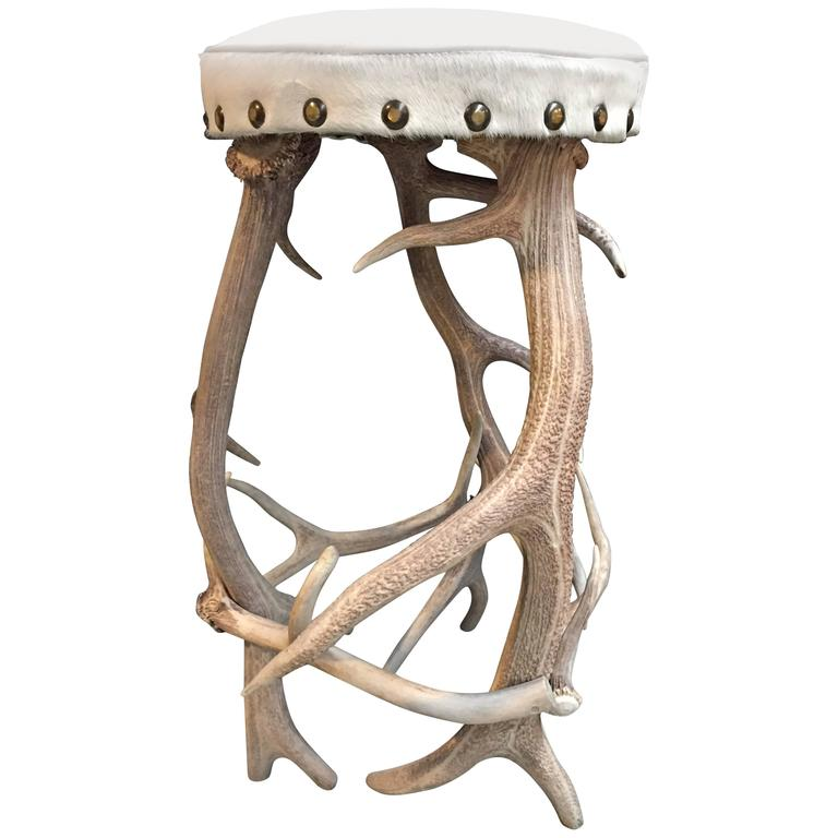 Antler Bar Stool 1