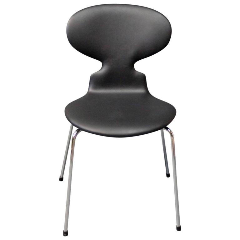 the ant chair model 3101 by arne jacobsen and fritz hansen 1980s for sale at 1stdibs. Black Bedroom Furniture Sets. Home Design Ideas