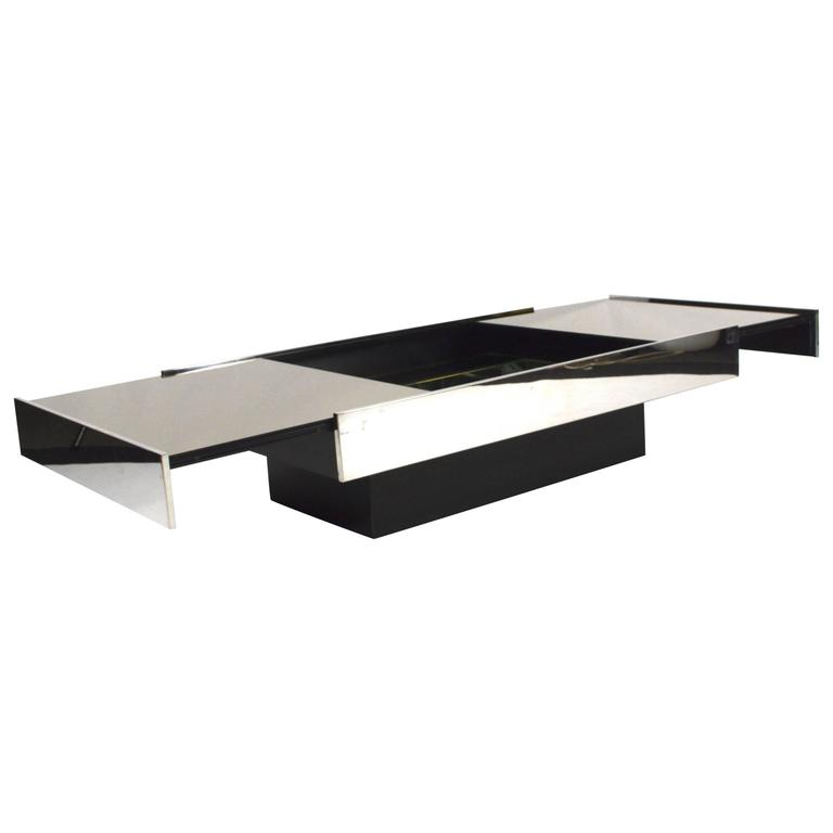 Willy rizzo for cidue coffee table italy 1970s at 1stdibs for Table willy rizzo