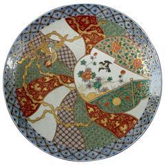 Imari Porcelain Charger Plate