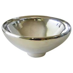 Harald Nielsen for Georg Jensen Sterling Silver Holloware Bowl