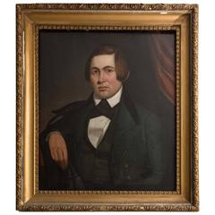 19th Century American Portrait of a Gentleman by Lyman Emerson Cole