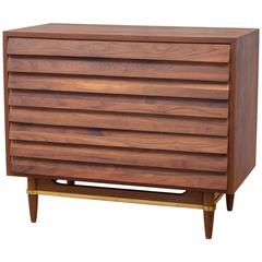 """Dania"" Walnut Dresser by Merton Gershun for American of Martinsville **ON SALE"