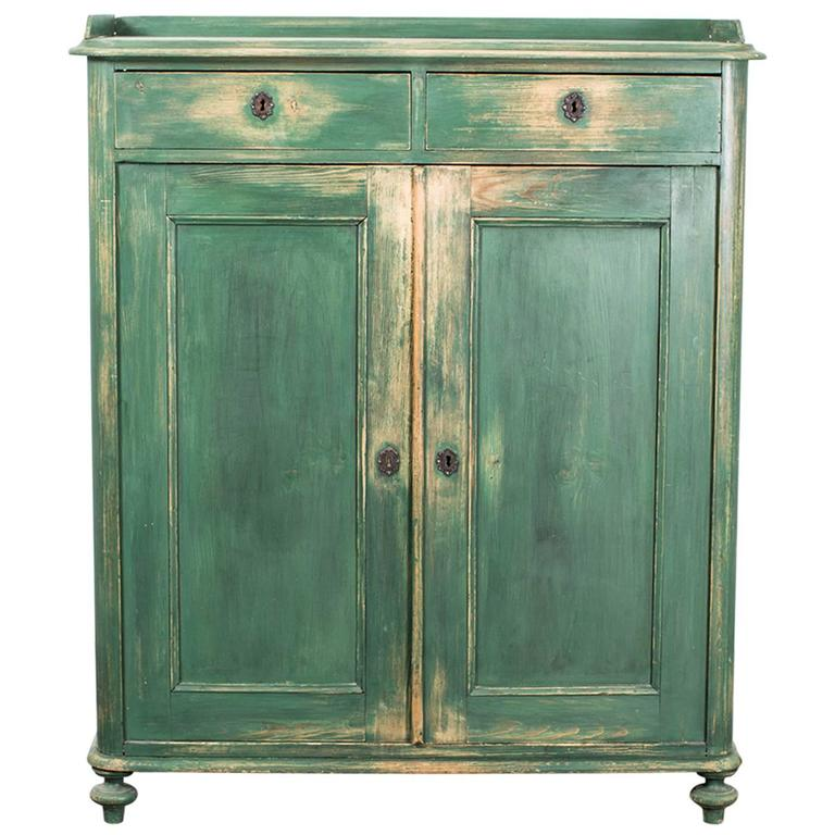 Sideboard Painted 19th Century, Sweden
