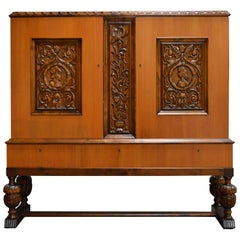 Swedish Neoclassical Storage Cabinet
