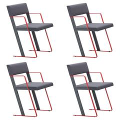 Dutch Post Modern Dick Siedenburg Castelijn Chairs, 1978