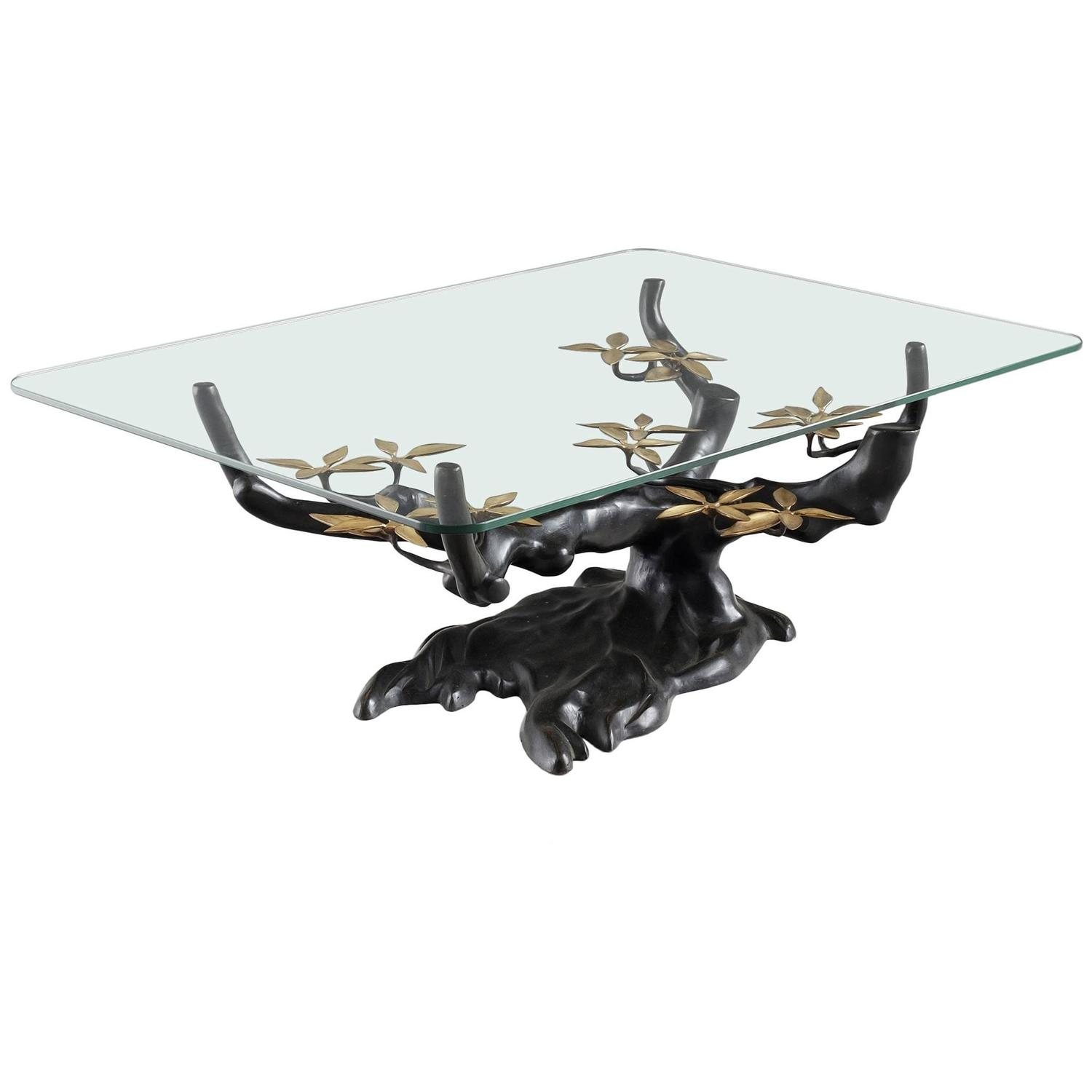 Bonsai Tree Coffee Table For Sale at 1stdibs