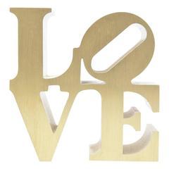 Robert Indiana Love Sculpture Paperweight