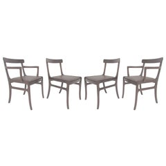 Set of Four Danish Dining Chairs by Ole Wanscher, circa 1960s
