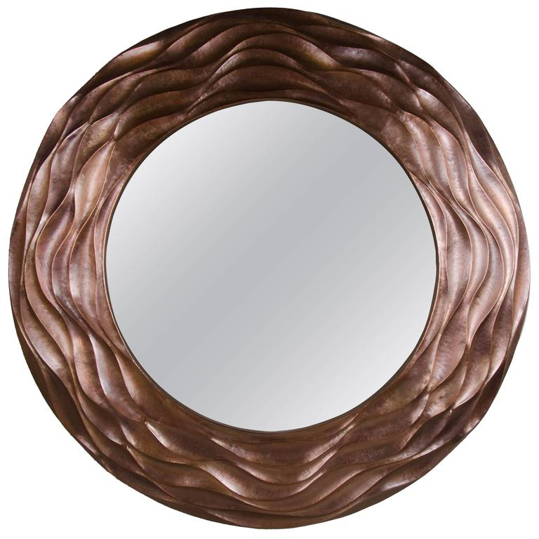 Sui Ola Mirror by Robert Kuo, Limited Edition, Customizable For Sale
