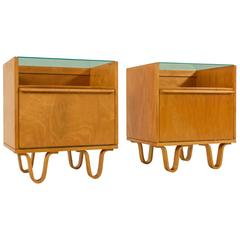 Rare Pair of Nightstands by Cees Braakman for UMS Pastoe