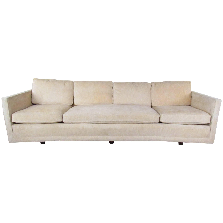 Vintage Modern Four Seat Sofa by Erwin Lambeth for John Stuart