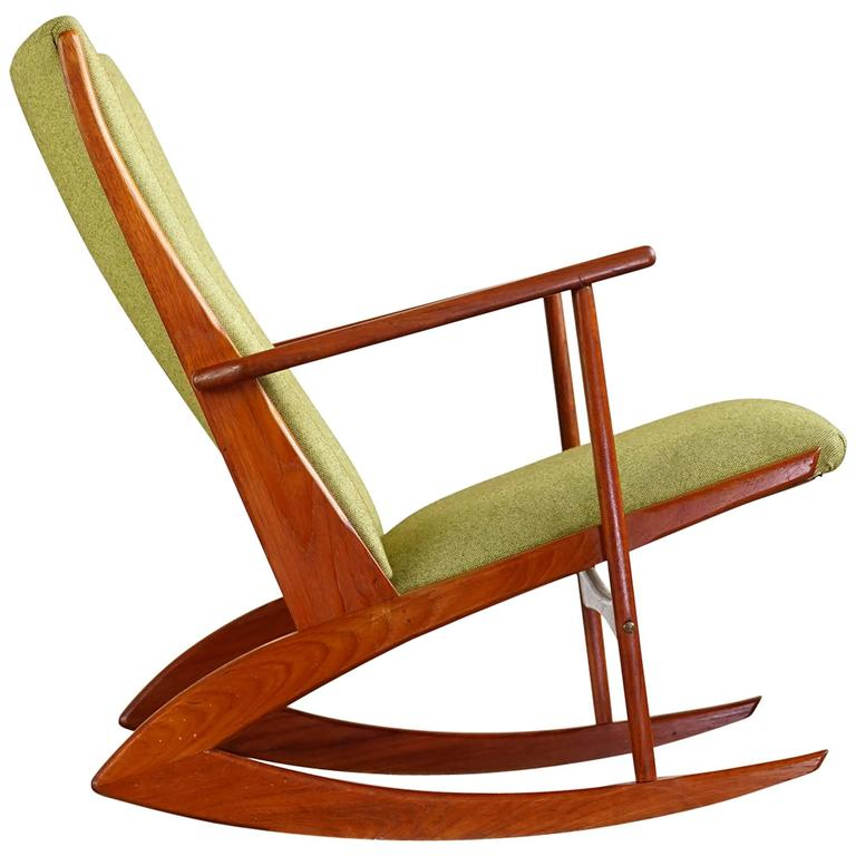 This Model 97 Rocking Chair by Holger Georg Jensen is no longer ...