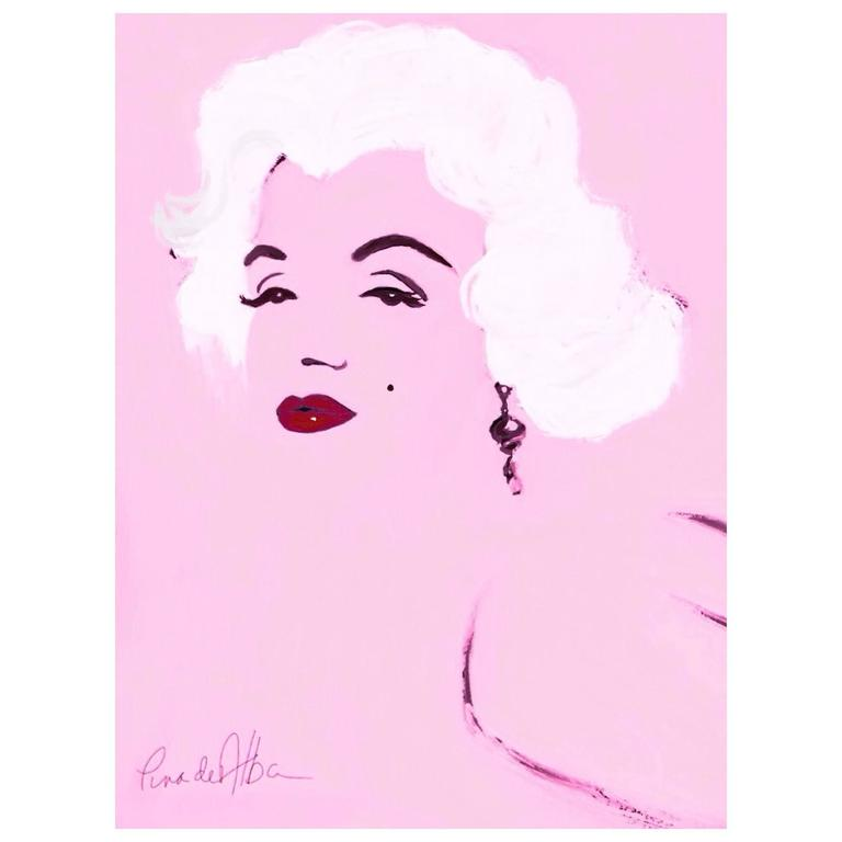 """Marilyn"" by Arthur Pina de Alba, ipad Drawing on Archival Art Paper #2 of 7"