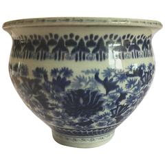Chinese Blue and White Pot/Planter