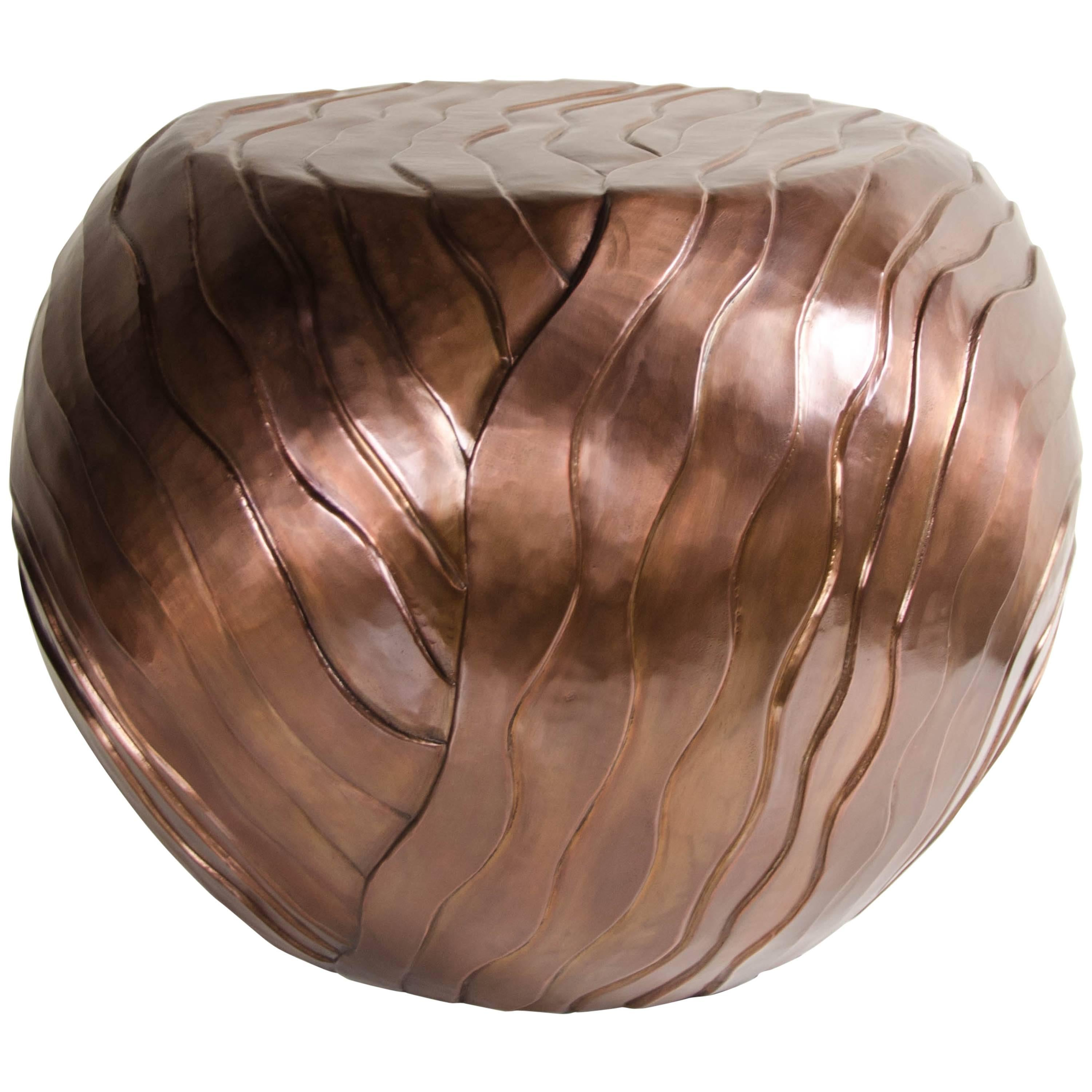 Cascade Design Low Drum Stool by Robert Kuo, Limited Edition, Customizable