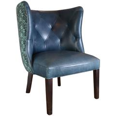 Goodman Tibetan Upholstered Leather Chair