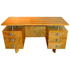 Rare Modernist Desk by Eliel Saarinen Associates
