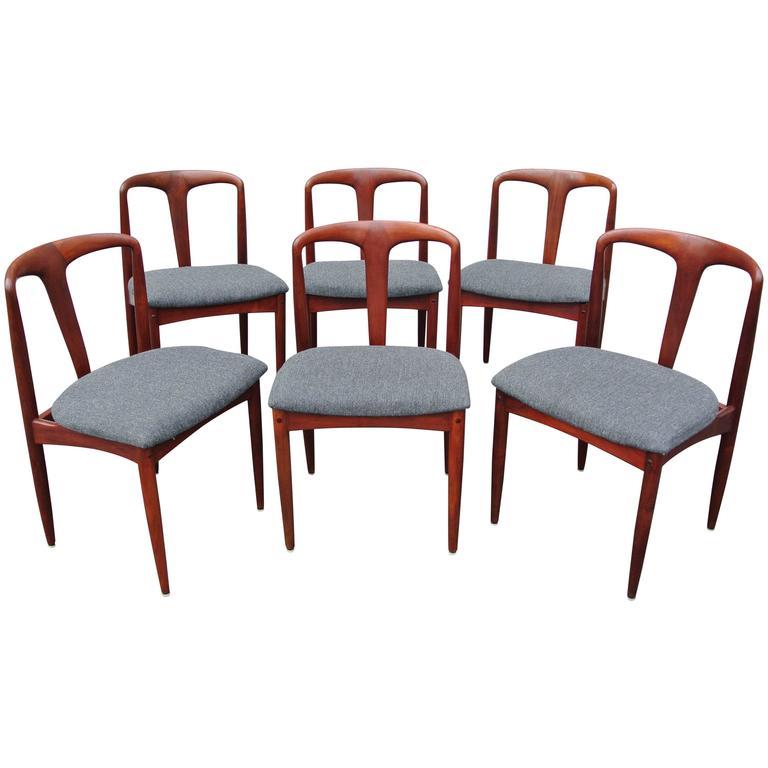 Juliane Dining Chairs by Johannes Andersen