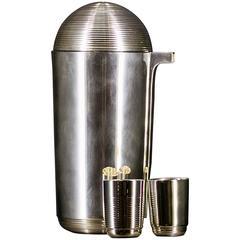 italienisch Serviergeschirr, Keramik, Silber und Glas