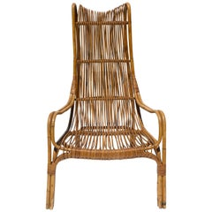 Highback Rattan Armchair