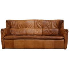 Gerard Van den Berrg Natural Leather Sofa