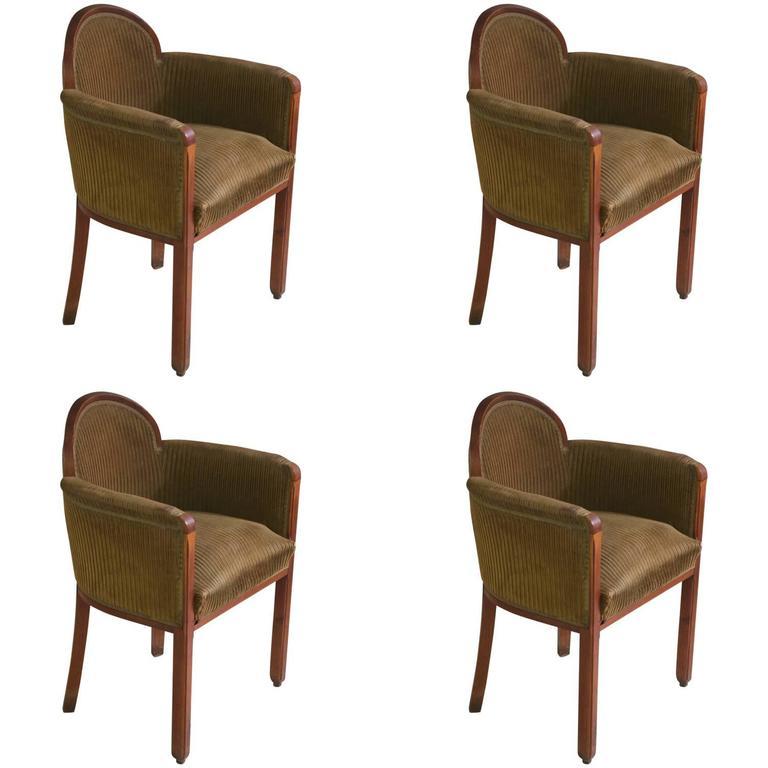 Paul Follot Pair of Armchairs