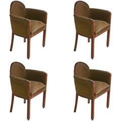 Paul Follot Pair of Armchairs