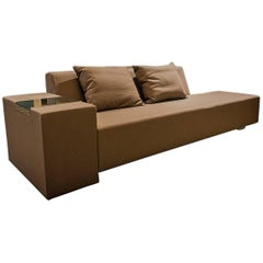 Fabric Chaise Longues