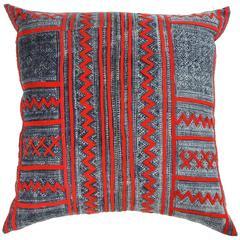 Chuck Gellar African Mud Cloth Pillow