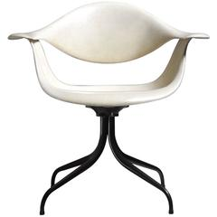 George Nelson Swaged Leg Chair for Herman Miller, 1950s