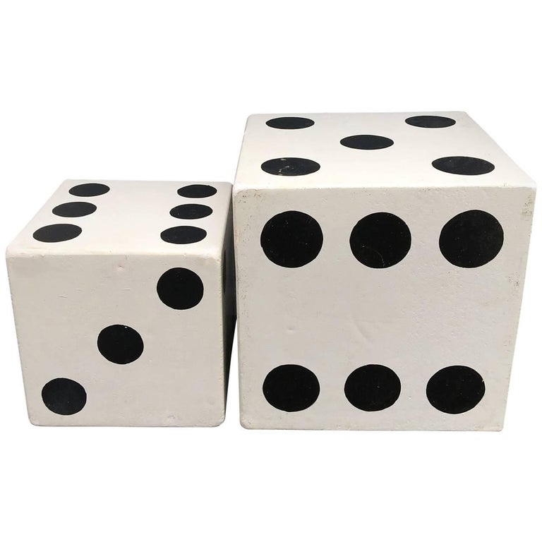 Set Of Large Dice Tail Tables