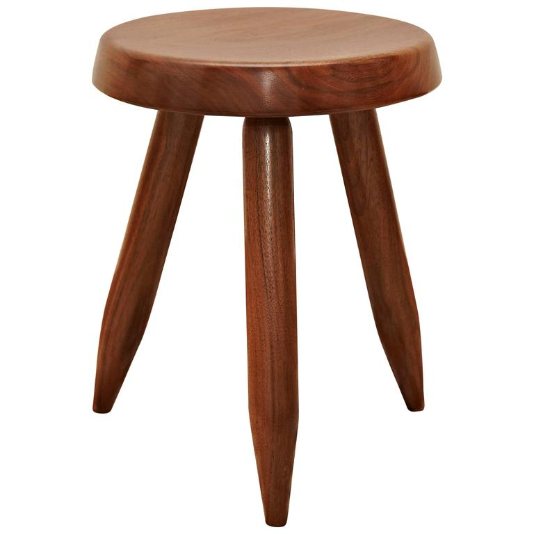 Stool after Charlotte Perriand For Sale