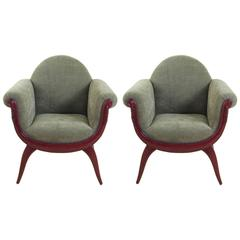 Gabriel Englinger and Suzanne Guiguichon Paris 1925 Expo Armchairs