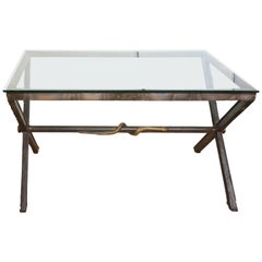 Neoclassical Style X Table