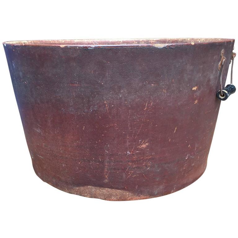 Large Industrial Bucket, American, circa 1900