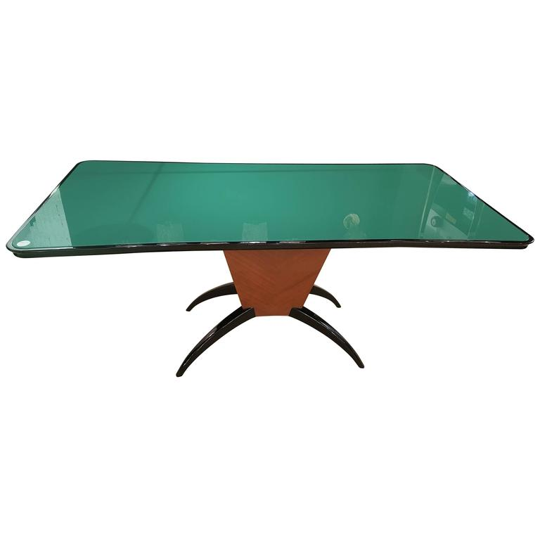 Mid-Century Italian Dining Table or Desk