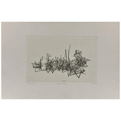 Abstract Etching, Holland, circa 1980