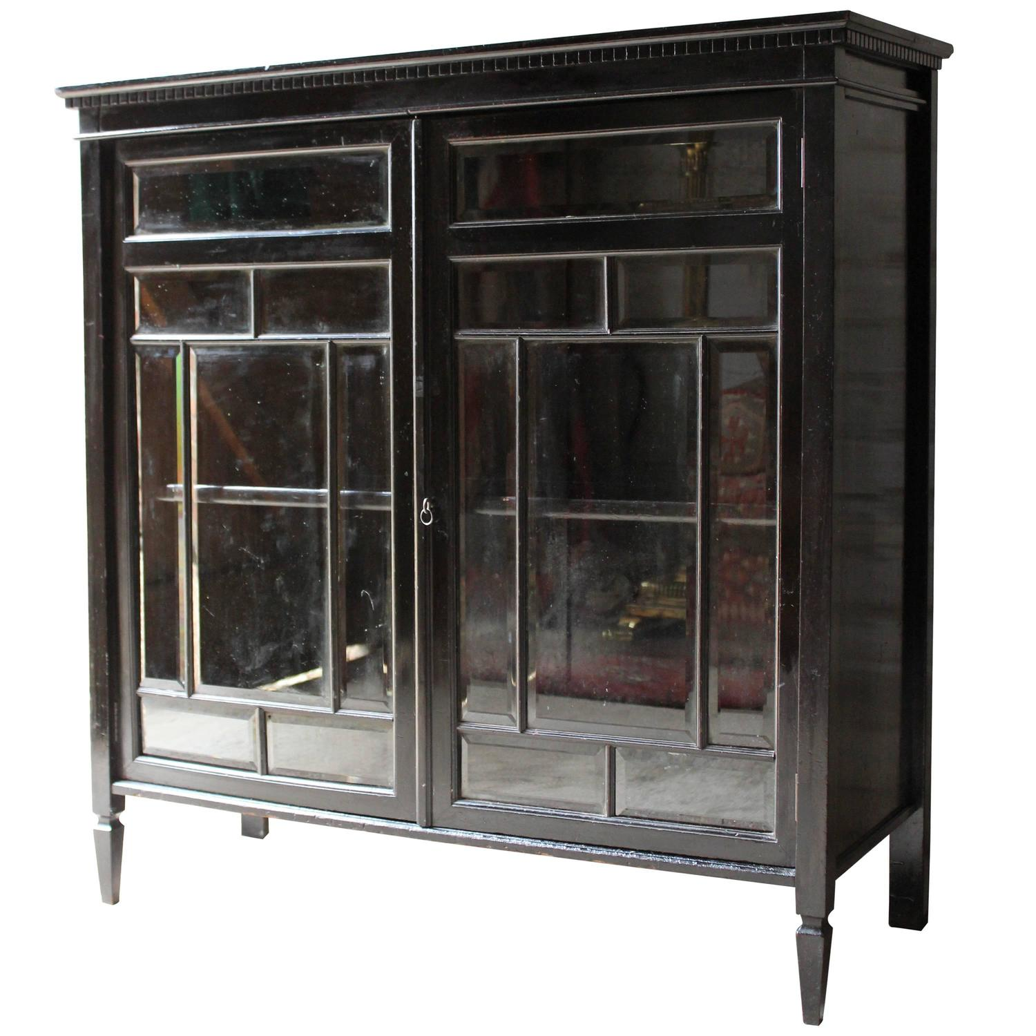 Good Quality Aesthetic Movement Ebonized Cabinet In The