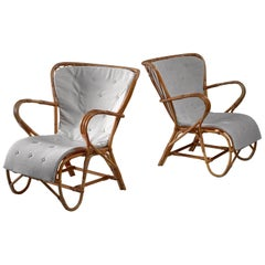 Reijo Reijonen Bamboo Garden Chairs, Finland, 1940s