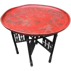Vintage Chinese Tray Table, 20th Century