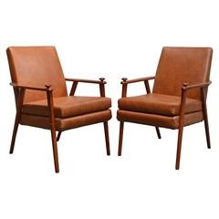 Pair of Mid-Century Modern Side Chairs