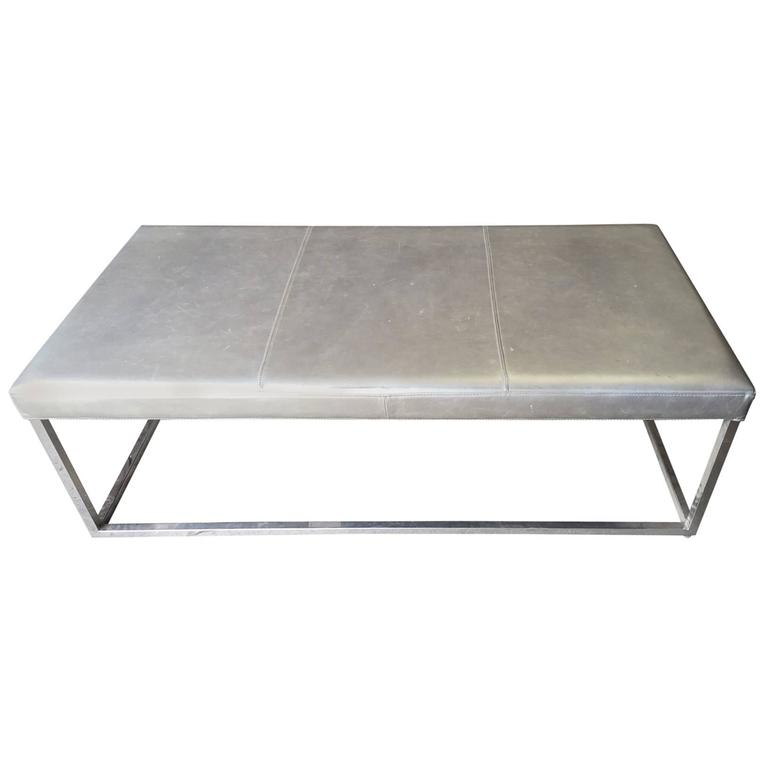 Timms Table By Nathan Turner For Elite Leather At 1stdibs