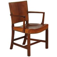 """Red"" Armchair by Kaare Klint"