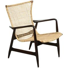 Cane Danish Armchair
