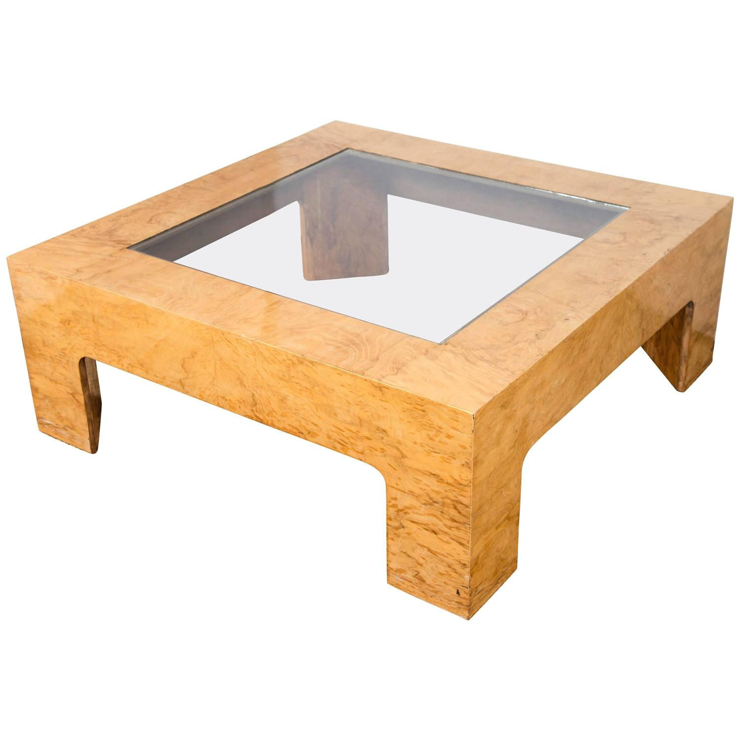 Coffee Table In The Style Of Milo Baughman For Sale At 1stdibs